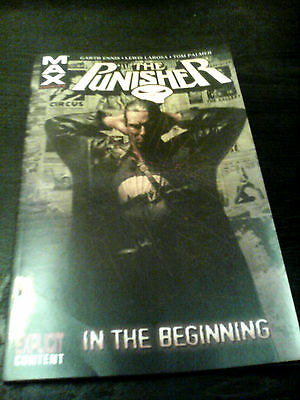 The Punisher In The Beginning Graphic Novel