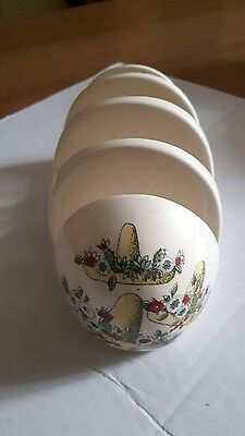 Vintage Mexican Madness 4 slice Toast Rack BESWICK 1950's