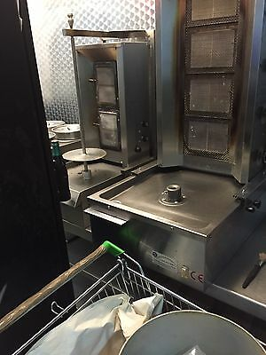 Archway 2 Burner Kebab Machine (on the Left) Good Condition
