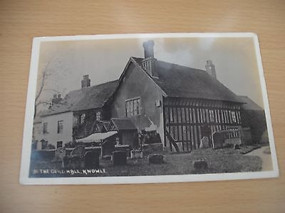 The Guildhall Knowle Warwickshire real photo postcard posted 1912