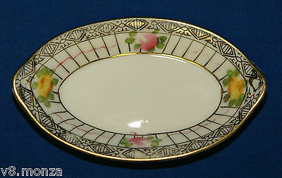 LARGE HAND PAINTED NIPPON ~ SALT DISH DIPS CELLARS DISHES OPEN SALTS /d