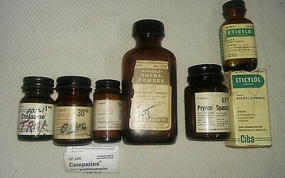 Vintage Collectible Pharmaceutical items