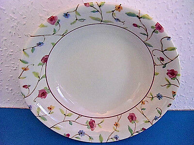 Royal Stafford Fine Earthenware Floral Serving Bowl.Made In England. Size 9.5""