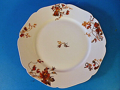 Antique H.& Co Limoges Hand Painted Porcelain Cabinet Plate.Bennett Liverpool