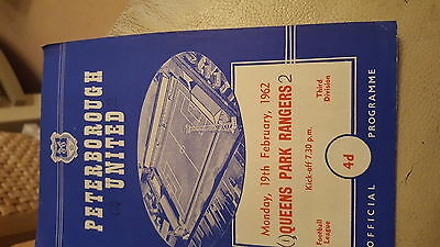 Peterborough  United  v qpr.19.2.1962