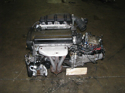 JDM Toyota 4A-GE Engine 20V 6 Speed Black Top Levin Corolla 4AGE
