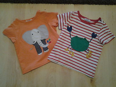 Boys Boden t-shirts age 6-12 months