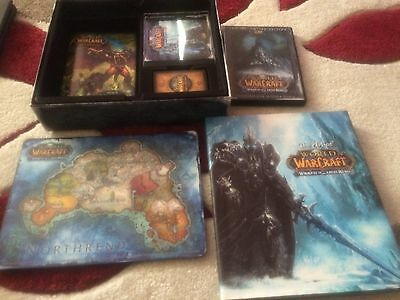 World Of Warcraft Wrath Of The Lich King Collector's Edition/see description