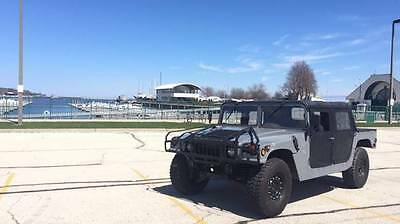 2002 Hummer H1 M998 2002 M998 AM GENERAL HUMVEE - Both Canvas & X-Doors Incl. - FREE SHIPPING!