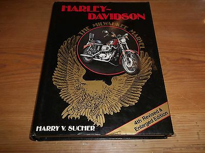 Book. Harley-Davidson. The Milwaukee Marvel. Sucher. Motorcycle. 4th Edition.