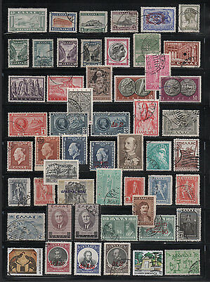 Greece, Used Stamp Assortment
