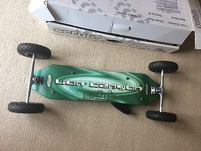 Green Scrub Lion Canyon All Terrain Board, Activity, Freestylers, Power Kite