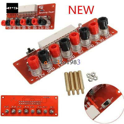 24 Pins ATX Benchtop Power Board Computer Connector Socket Power Supply Adapter