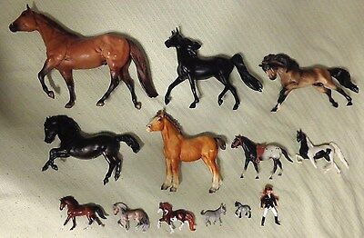 Breyer Traditional Classic Stablemates Mini Whinnies Rider Doll HUGE Lot of 13