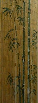 == Natural Bamboos Trees Beaded Curtain Door Divider Rideau de Porte en Bambou