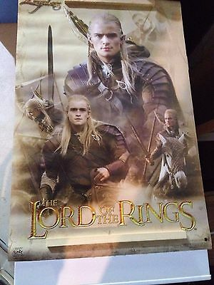 Lord of the Rings Trilogy MASSIVE poster BUNDLE!!! (Legolas and more)
