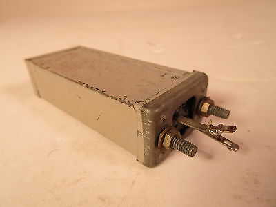 Western Electric 139QA Capacitor for tube amp - 2.14 - 2.18 MF