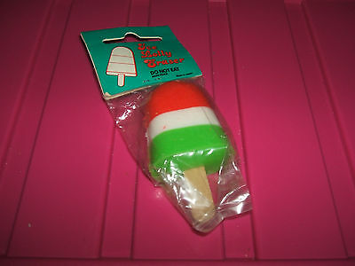 RARE 1980s SEALED ICE LOLLY ERASER RUBBER - COMBINED POSTAGE