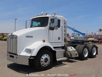Kenworth T800B T/A Day Cab Truck Tractor Cummins M11Diesel 10-Spd WET KIT A/C
