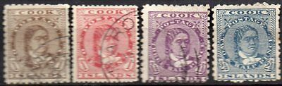 Cook Islands   Four Early Stamps