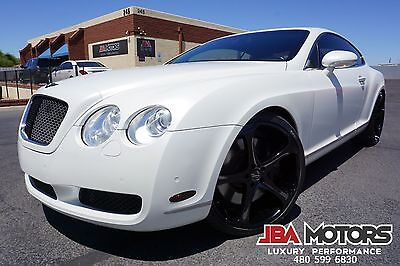 2004 Bentley Continental GT 04 Bentley Continental GT Coupe ONLY 51k Miles 2004 White Bentley Continental GT Coupe V12 AWD like 2003 2005 2006 2007 2008 09