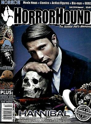 Horrorhound Magazine 2014 Annual Hannibal Ex Condition