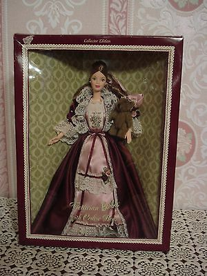 Poupee Barbie Collection Victorian Cedric Bear  Annee 1999 Tbeg