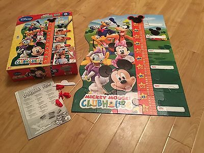 Disney Mickey Mouse Clubhouse 30 Piece Giant Height Chart Jigsaw Puzzle