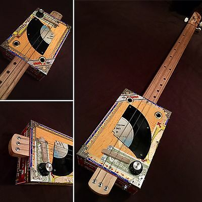 Cigar Box Guitar By Birdwood Guitars Australia