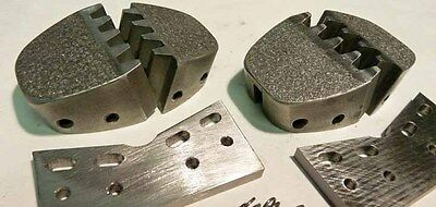 ERCO shrink jaws, 2 pairs with guide plates, for models 1447 or 476 machines