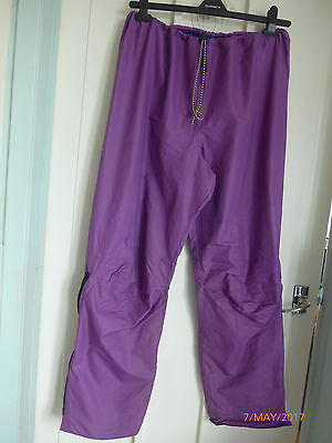 """rab"" General Use Pertex Trousers - Regular Not Slim Fit- Purple-Size S"