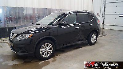 2016 Nissan Rogue 4 Door SV 2016 Nissan Rogue SV, 2.5L Clear Title, Salvage, Repairable, Rebuildable #704032