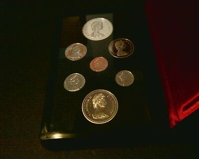 1975 Royal Canadian 7 Coin Double Dollar Set