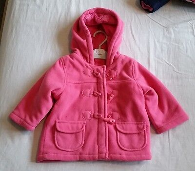 M&S baby girl pink jacket 9-12 months