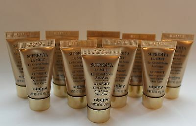 10 x 5 ml Sisley Supremya La Nuit Le Grand Soin Anti Age