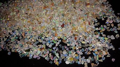418cts100%NATURAL MULTISHINING DOTTED WELO ETHIOPIAN OPAL AA+ ROUGH LOT GEMSTONE