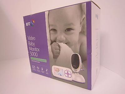Bt Video Baby Monitor 5000 Remote Pan Tilt 2.8 Inch Screen Brand New Boxed