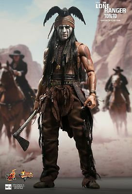 THE LONE RANGER - Tonto 1/6th Scale Action Figure MMS217 (Hot Toys) #NEW