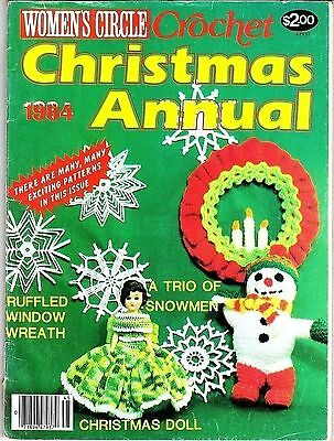 Women's Circle Crochet Christmas Annual 1984 Magazine