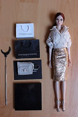 Fashion Royalty Elise Montaigne Market Elyse exclusive RARE integrity toys doll