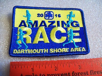 Canadian Girl Guides  Badge/Patch Amazing Race Dartmouth Shores Area