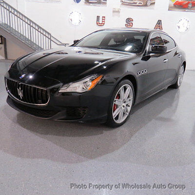 2014 Maserati Quattroporte 4dr Sedan Sport GT S FULLY LOADED !! CARFAX CERTIFIED! MINT CONDITION !! FACTORY WARRANTY