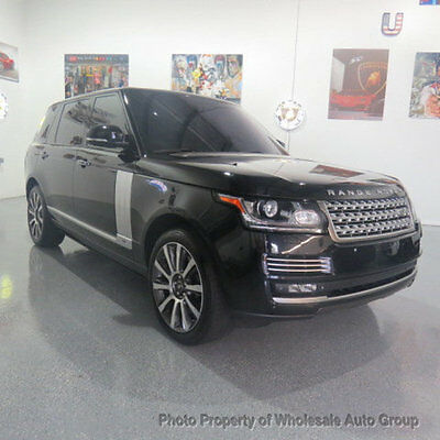 2014 Land Rover Range Rover 4WD 4dr Supercharged Autobiography LWB FULLY LOADED !! BEST COLOR  !! PERFECT! CONDITION !! NATIONWIDE SHIPPING