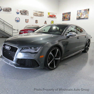 2015 Audi RS 7 4dr Hatchback Prestige ONE OWNER CARFAX CERTIFIED  !! FACTORY WARRANTY !! BEST COLOR COMBO ! USA SHIP