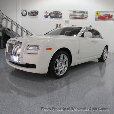 2011 Rolls-Royce Ghost 4dr Sedan BEST COLOR !!  FULLY LOADED !!! CARFAX CERTIFIED !!! JUST SERVICED!! PERFECT CAR