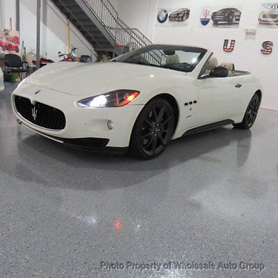2012 Maserati Gran Turismo MC SPORTLINE EDITION CARFAX CERTIFIED ! NATIONWIDE SHIPPING !! FULLY LOADED !!! CALL 954-744-1177