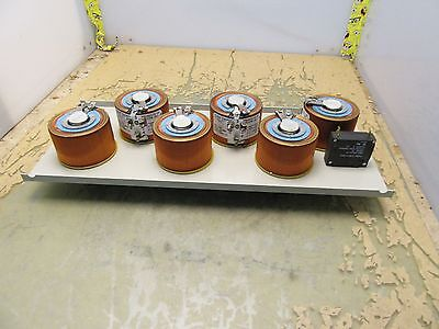 assembly w/ 6x staco 221-b variable autotransformers variacs [2*P-59.6]