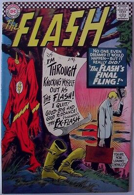"The Flash #159 (1966) ""The Flash's Final Fling!"""
