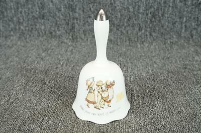 """Holly Hobbie Porcelain Bell Make Your Own Kind Of Music 6 1/8"""""""