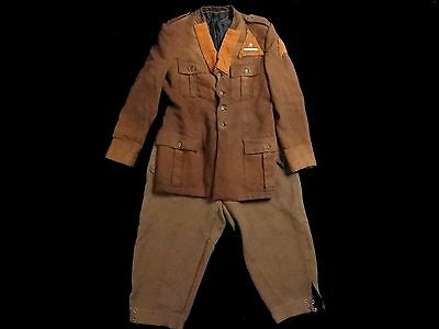 Very Nice Rare Italian Partisan Lieutenant Uniform, Tunic And Breeches